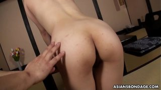 Akiko Kurokawa is a perfect sex slave with deep throat