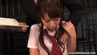 Yu Ayana is a dirty minded schoolgirl who likes BDSM