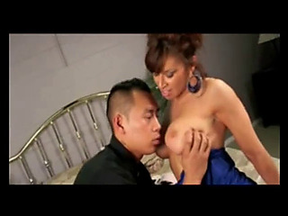 Fortunate oriental with breasty mother i'd like to fuck!