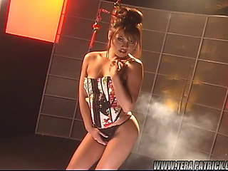 An Intensive Solo Scene With A Very Sexy Oriental Honey
