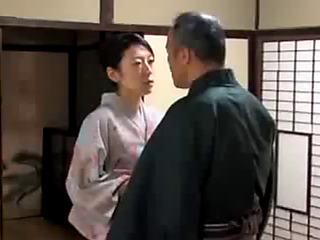Oriental japanese kimono milf's sex life threateningfearsome pt2 on hdmilfcam.com