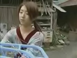 Japanese Young Horny House Wife Force