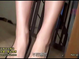 【中字】超可爱全裸家政上门服务