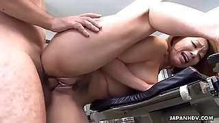 Brainwashed Japanese redhead used as a fuck toy and facialized