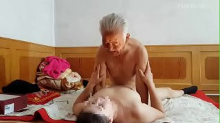 old man chinese with prostitute