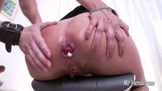 HOT ASIAN TEEN ASA BELLE FUCKS FOR BIG ANAL GAPE