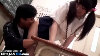 Jav 18yo college girl has sex in classroom